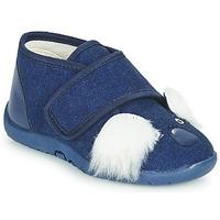Παπούτσια Παιδί Παντόφλες Little Mary KOALAVELCRO Μπλέ
