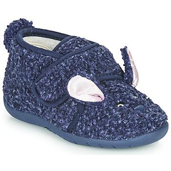 Παπούτσια Παιδί Παντόφλες Little Mary LAPINVELCRO Μπλέ