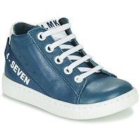 Παπούτσια Αγόρι Ψηλά Sneakers Little Mary LUCKY Μπλέ
