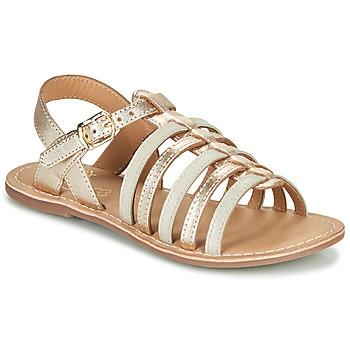 Παπούτσια Κορίτσι Σανδάλια / Πέδιλα Little Mary BARBADE Gold