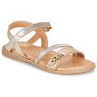 Παπούτσια Κορίτσι Σανδάλια / Πέδιλα Little Mary DOLERON Gold