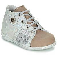 Παπούτσια Κορίτσι Μπότες Little Mary VANILLE Silver / Taupe