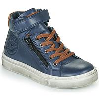 Παπούτσια Αγόρι Ψηλά Sneakers Little Mary FIRST Μπλέ