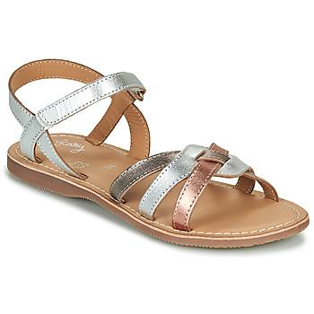 Παπούτσια Κορίτσι Σανδάλια / Πέδιλα Little Mary LIGHT Silver / Bronze / Ροζ / Χρυσο