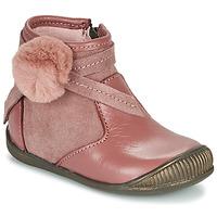 Παπούτσια Κορίτσι Μπότες Little Mary FRANCOISE Ροζ