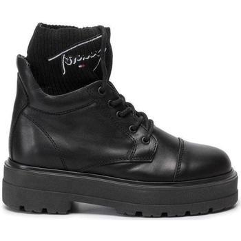 Μπότες Tommy Jeans Tommy Signature Flatform Boots