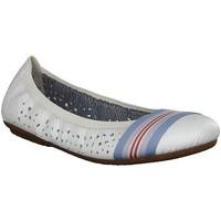 Παπούτσια Γυναίκα Μπαλαρίνες Rieker Weiss Flats White