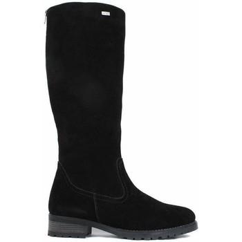 Μπότες για την πόλη Remonte Dorndorf Samtcalf Black Boots