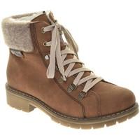 Παπούτσια Γυναίκα Μπότες Rieker Morbido Filz Ambor Boots Brown