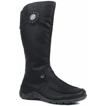 Παπούτσια Γυναίκα Μπότες για την πόλη Rieker Greece Luxor Boots Black