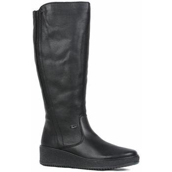 Παπούτσια Γυναίκα Μπότες για την πόλη Rieker Castor Boots Black