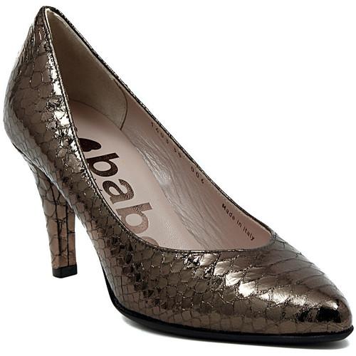 Παπούτσια Γυναίκα Γόβες Le Babe DECOLTE STAMPATO ACCIAIO Multicolore