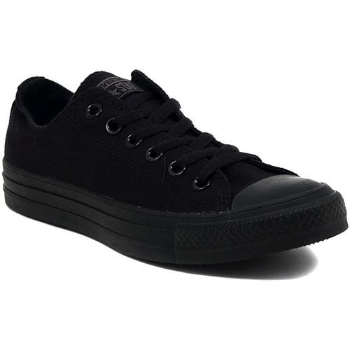 Παπούτσια Χαμηλά Sneakers Converse ALL STAR  OX BLACK MONOCROME Multicolore