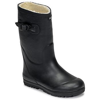 Παπούτσια Παιδί Μπότες βροχής Aigle WOODY POP FUR Marine