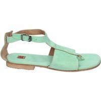 Παπούτσια Γυναίκα Σανδάλια / Πέδιλα Moma Σανδάλια BK89 πράσινος