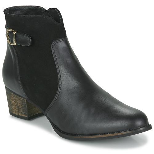 Παπούτσια Γυναίκα Μποτίνια So Size SERELLE Black