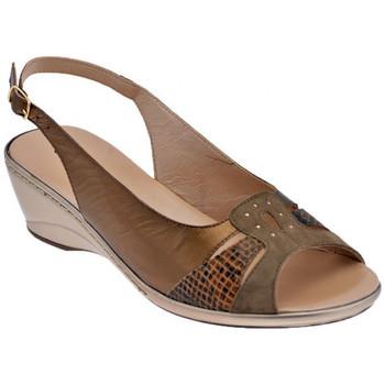 Παπούτσια Γυναίκα Σανδάλια / Πέδιλα Confort  Brown