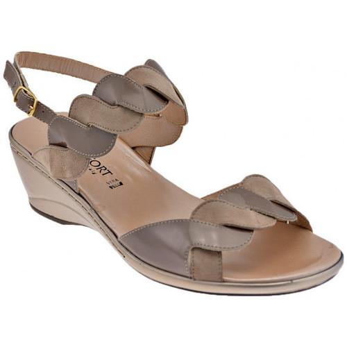 Παπούτσια Γυναίκα Σανδάλια / Πέδιλα Confort  Beige