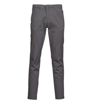 Υφασμάτινα Άνδρας Παντελόνια Chino/Carrot Jack & Jones JJIMARCO Grey