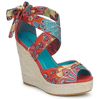 Παπούτσια Γυναίκα Σανδάλια / Πέδιλα Moony Mood FIRNIL Multicolour