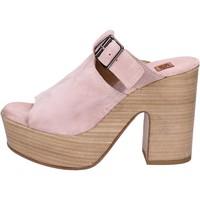 Παπούτσια Γυναίκα Σανδάλια / Πέδιλα Moma Σανδάλια BK100 Ροζ