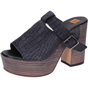 Παπούτσια Γυναίκα Σανδάλια / Πέδιλα Moma Σανδάλια BK101 Μαύρος
