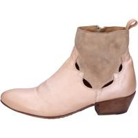 Παπούτσια Γυναίκα Μποτίνια Moma Μπότες αστραγάλου BK110 Ροζ