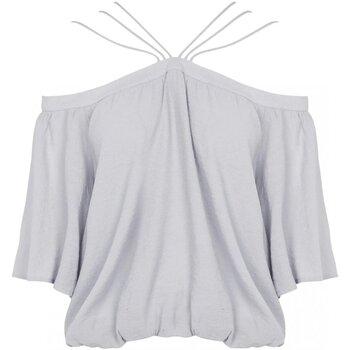 Υφασμάτινα Γυναίκα Μπλούζες See U Soon 20111182 Grey