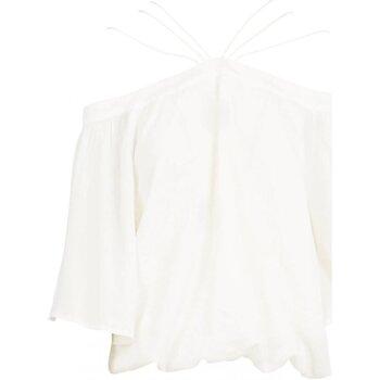 Υφασμάτινα Γυναίκα Μπλούζες See U Soon 20111182 Άσπρο
