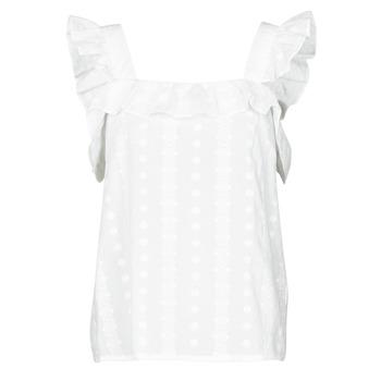 Υφασμάτινα Γυναίκα Μπλούζες Betty London OOPSA Άσπρο