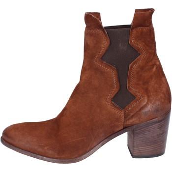 Παπούτσια Γυναίκα Μποτίνια Moma Μπότες αστραγάλου BK142 καφέ