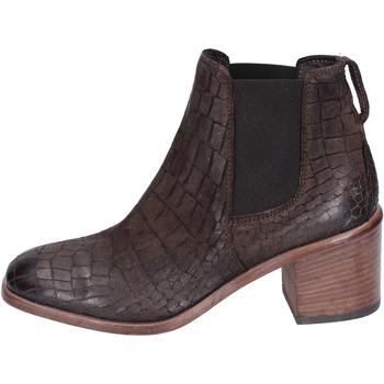 Παπούτσια Γυναίκα Μποτίνια Moma Μπότες αστραγάλου BK149 καφέ
