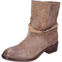 Παπούτσια Γυναίκα Μποτίνια Moma BK169 Μπεζ
