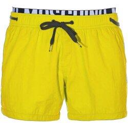 Υφασμάτινα Άνδρας Μαγιώ / shorts για την παραλία Love Moschino A6118 Yellow