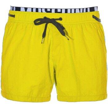 Υφασμάτινα Άνδρας Μαγιώ / shorts για την παραλία Moschino A6118 Yellow