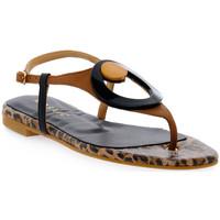 Παπούτσια Γυναίκα Σανδάλια / Πέδιλα Priv Lab MOSAIC MORO ALLURE Marrone