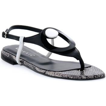 Παπούτσια Γυναίκα Σανδάλια / Πέδιλα Priv Lab MOSAIC NERO ALLURE Nero