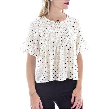 Υφασμάτινα Γυναίκα Μπλούζες See U Soon 20119097B Άσπρο