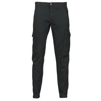 Υφασμάτινα Άνδρας παντελόνι παραλλαγής Jack & Jones JJIPAUL Black