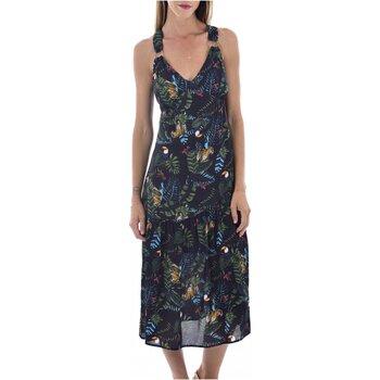 Υφασμάτινα Γυναίκα Μακριά Φορέματα See U Soon 20121060B Black