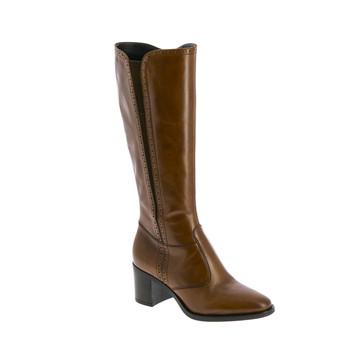 Παπούτσια Γυναίκα Μπότες για την πόλη André EOLE Cognac