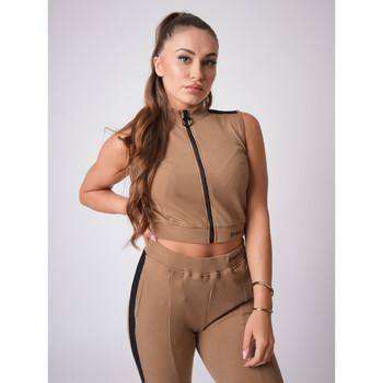 Υφασμάτινα Γυναίκα Μπλούζες Project X Paris  Brown