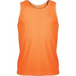 Υφασμάτινα Άνδρας Αμάνικα / T-shirts χωρίς μανίκια Proact Débardeur  Sport orange