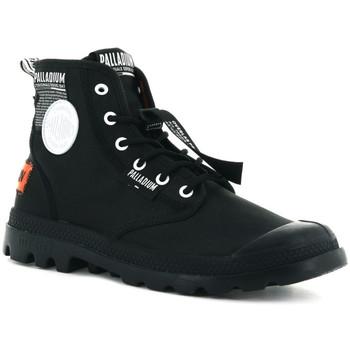 Παπούτσια Άνδρας Ψηλά Sneakers Palladium Lite overlab u Μαύρο