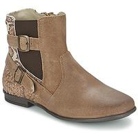 Παπούτσια Κορίτσι Μπότες Aster DESIA TAUPE / Imprimé