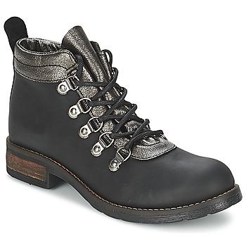 Παπούτσια Γυναίκα Μπότες Casual Attitude MIZATTE Black