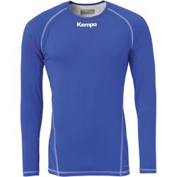 Υφασμάτινα Άνδρας Μπλουζάκια με μακριά μανίκια Kempa Maillot de compression ML  Attitude bleu roi