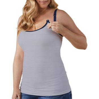 Υφασμάτινα Γυναίκα Αμάνικα / T-shirts χωρίς μανίκια Bravado 31007 BA FDST Άσπρο