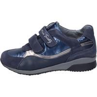 Παπούτσια Κορίτσι Sneakers Miss Sixty sneakers camoscio tessuto Blu