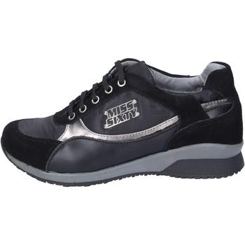 Παπούτσια Κορίτσι Sneakers Miss Sixty sneakers camoscio tessuto Nero